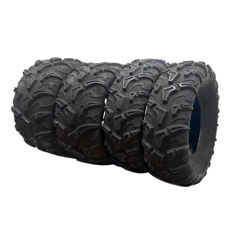"SET OF FOUR TIRES 26x9-12 26X11-12 26"" – Set of 4, front and Rear ATV/UTV (P299)"