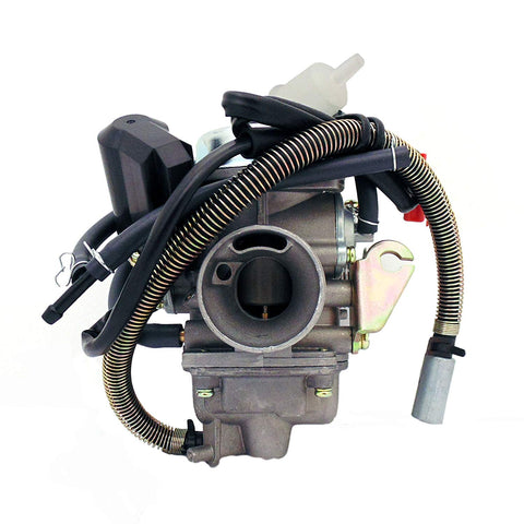 Carburetor Assy 150cc 125cc 4 Stroke Electric Choke Motorcycle Scooter