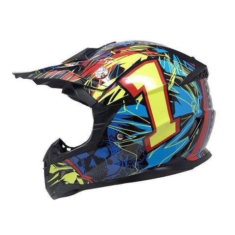 Motorcycle Youth Helmet Off Road MX ATV Dirt Bike Motocross UTV
