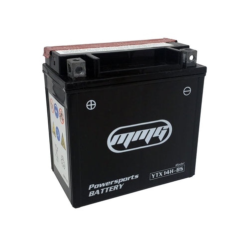 MMG YTX14H-BS High Performance Maintenance Free 12v Battery