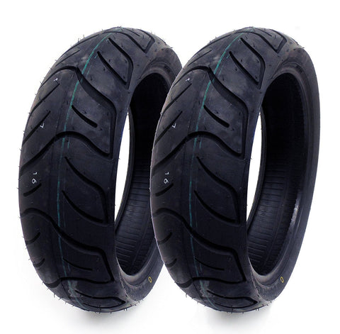 SET OF TWO: Tire 130/60-13 Tubeless Front/Rear