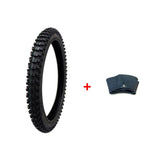 COMBO Dirt Bike TIRE Size 80/100-21 + INNER TUBE Size 80/100-21 TR4 Valve Stem