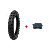 COMBO: Dirt Bike TIRE Size 90/100-14 + INNER TUBE Size 90/100-14 TR4 Valve Stem