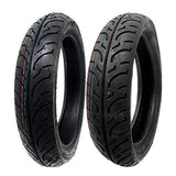 TIRE SET: FR 100/80-16 and RR 120/80-16
