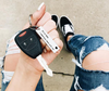 "Personalized ""Drive Safe I Need You Here With Me"" Keychain"