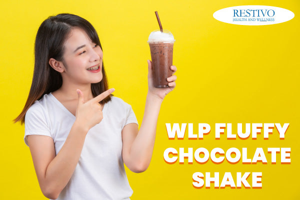 WLP FLUFFY CHOCOLATE SHAKE CHOOSE YOUR CHOCOLATE FLAVOURED PROTEIN DRINK RIGHTLY