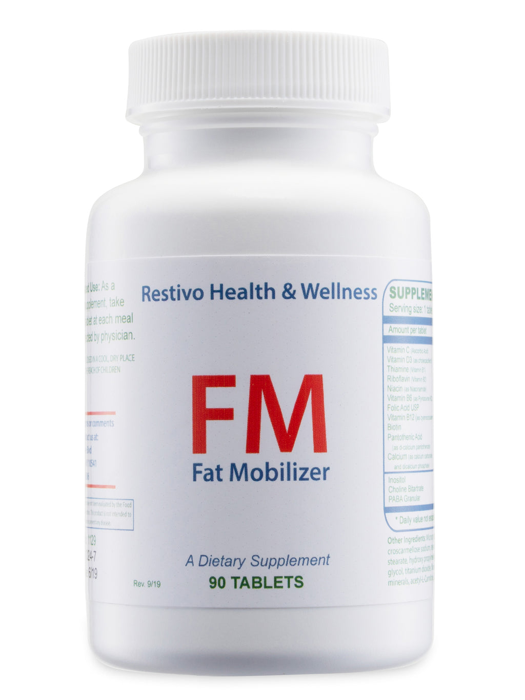 FM - Fat Burning, Liver Detox and Boosting Metabolism.