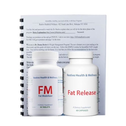 Program 10  Weight Loss - Fat Mobilize &  Release  Price drops to 125/month after 1st shipment