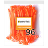 Orange Replacement Blades 96-Pack (CW Sharp Side Leading)