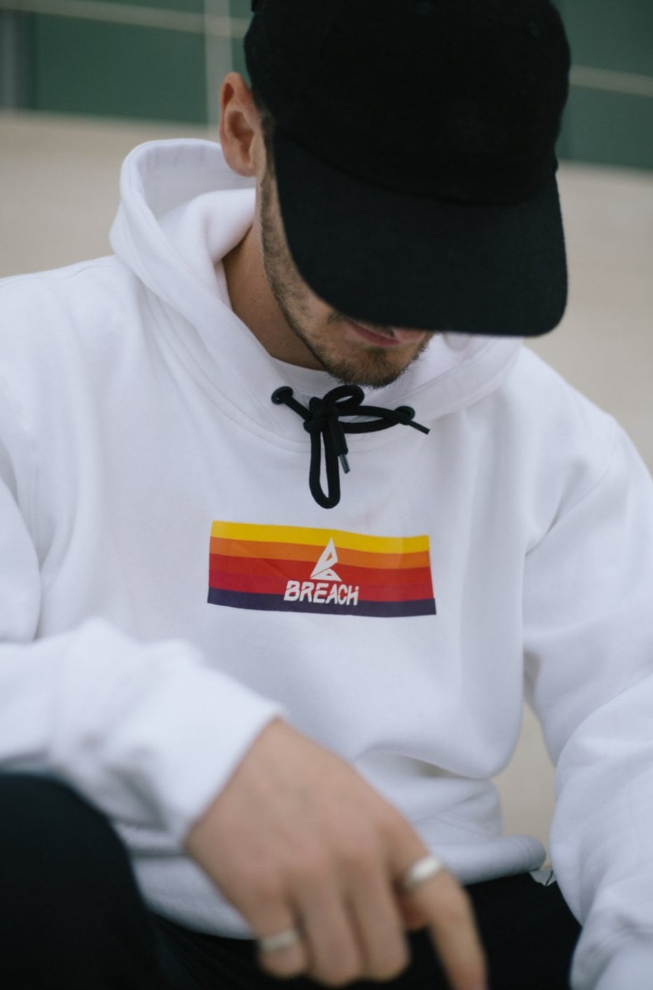 Breach Explorer Hoodie White