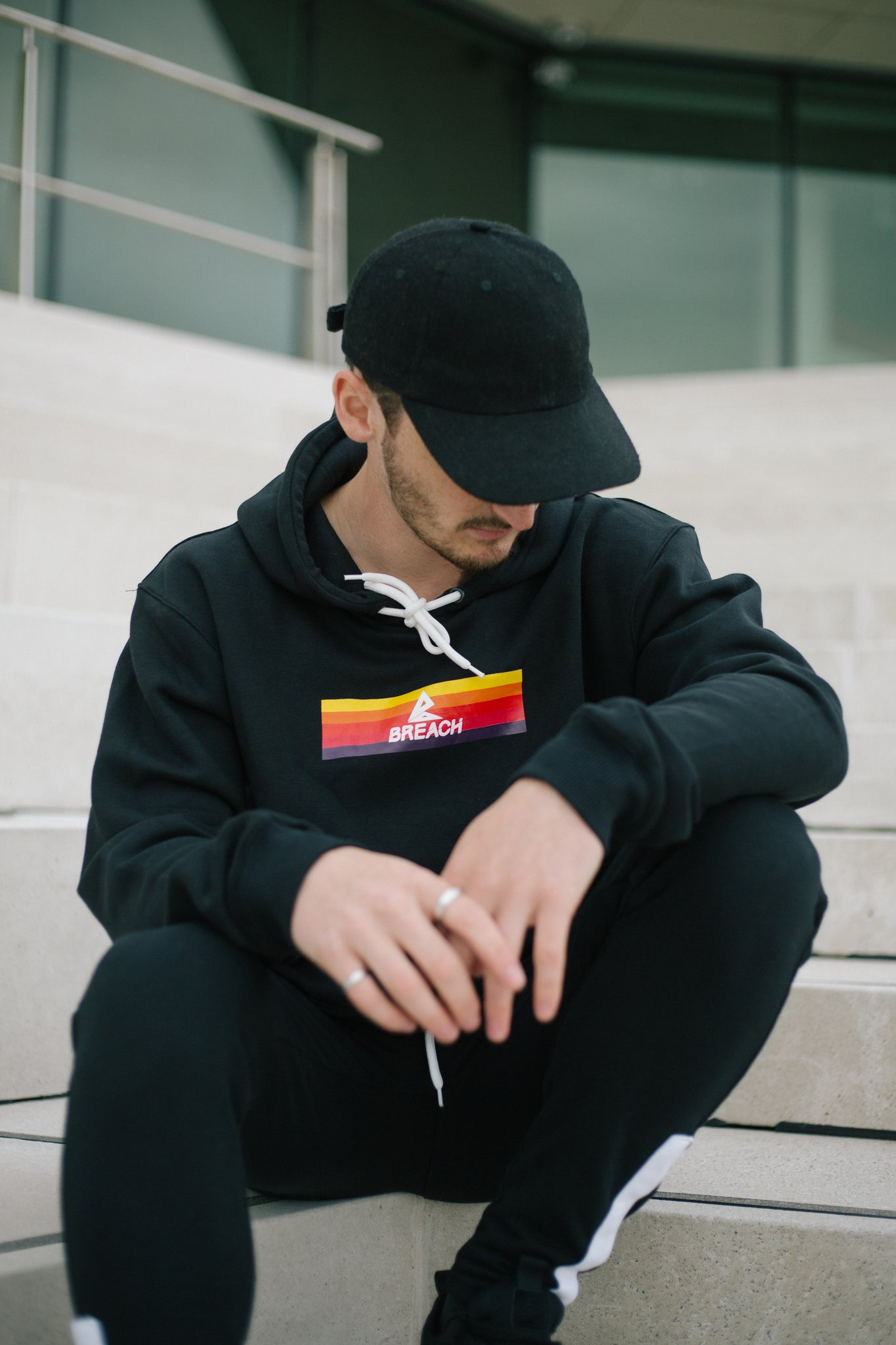 Breach Explorer Hoodie Black