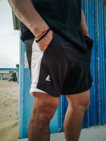 Black Shorts Breach Parkour Free Running Athlete Clothing Apparel