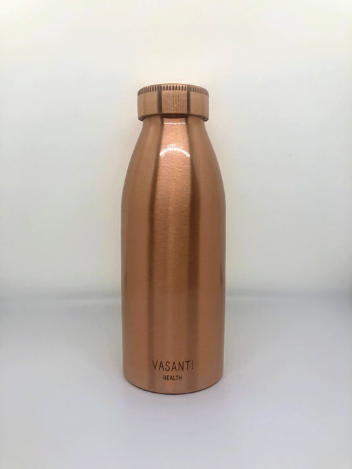 Slim Matte Copper Water Bottle