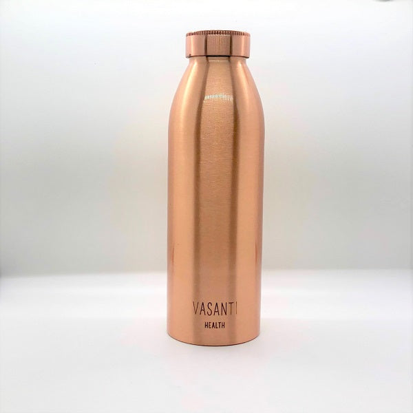 NEW: Slim Matte Copper Bottle