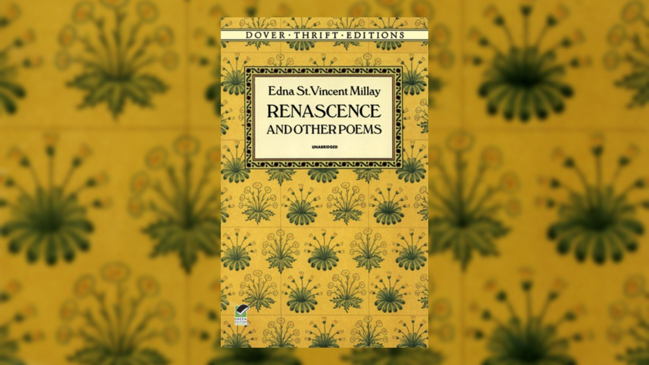Saint Edna Vincent Millay – Life and Recommended Works