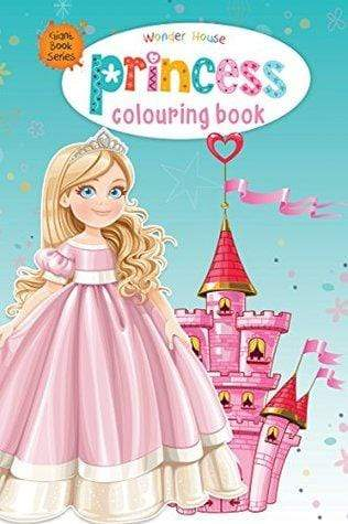 Princess Colouring Book (Giant Book Series): Jumbo Sized Colouring Books (Giant Colouring Book Series)