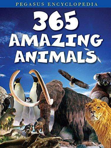 Buy 365 Amazing Animals book online at low prices in India | Bookish Book Pegasus for Kids 8131932516