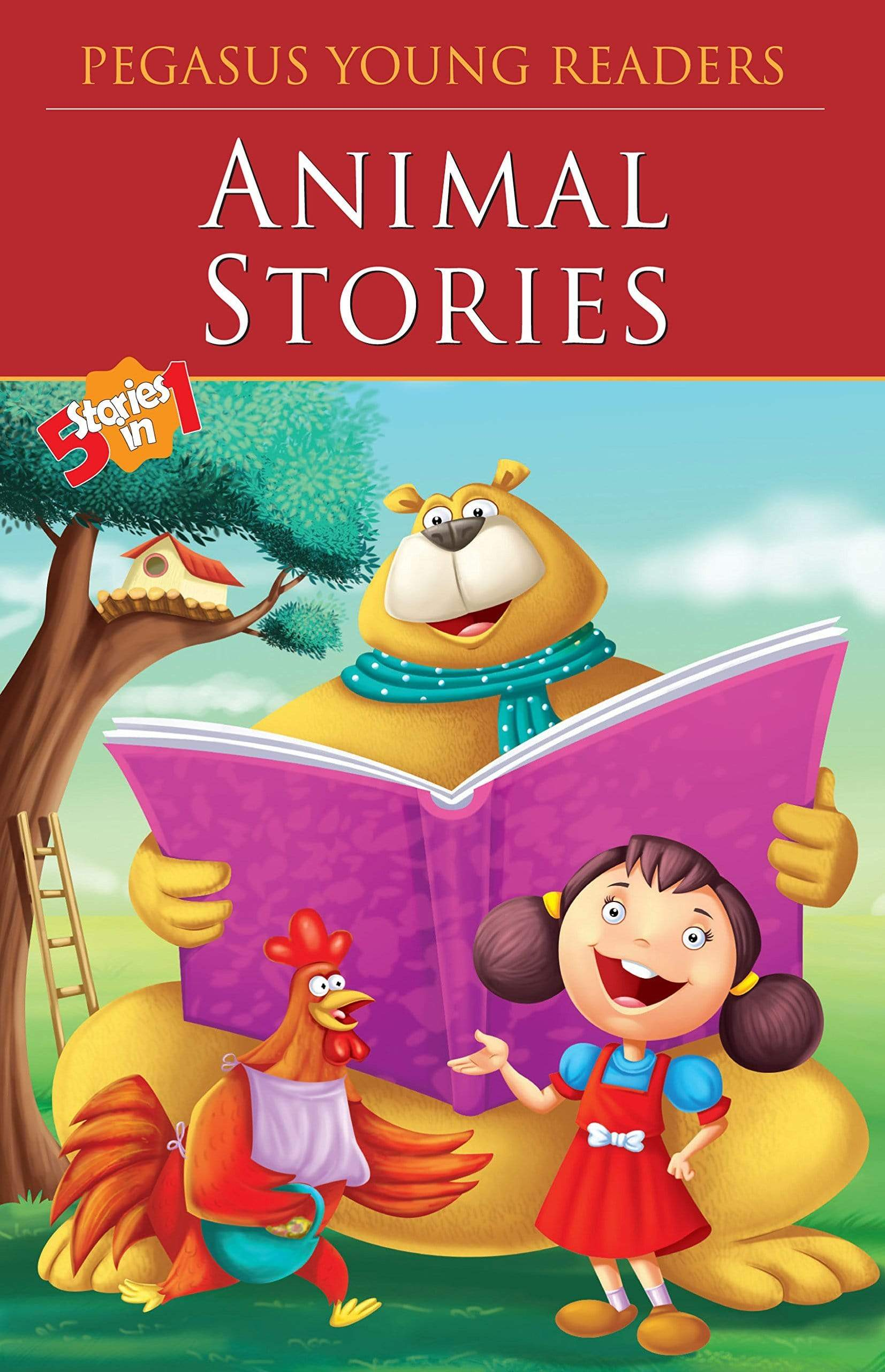 Buy Animal Stories book online at low prices in India | Bookish Santa Book Pegasus for Kids 8131917460