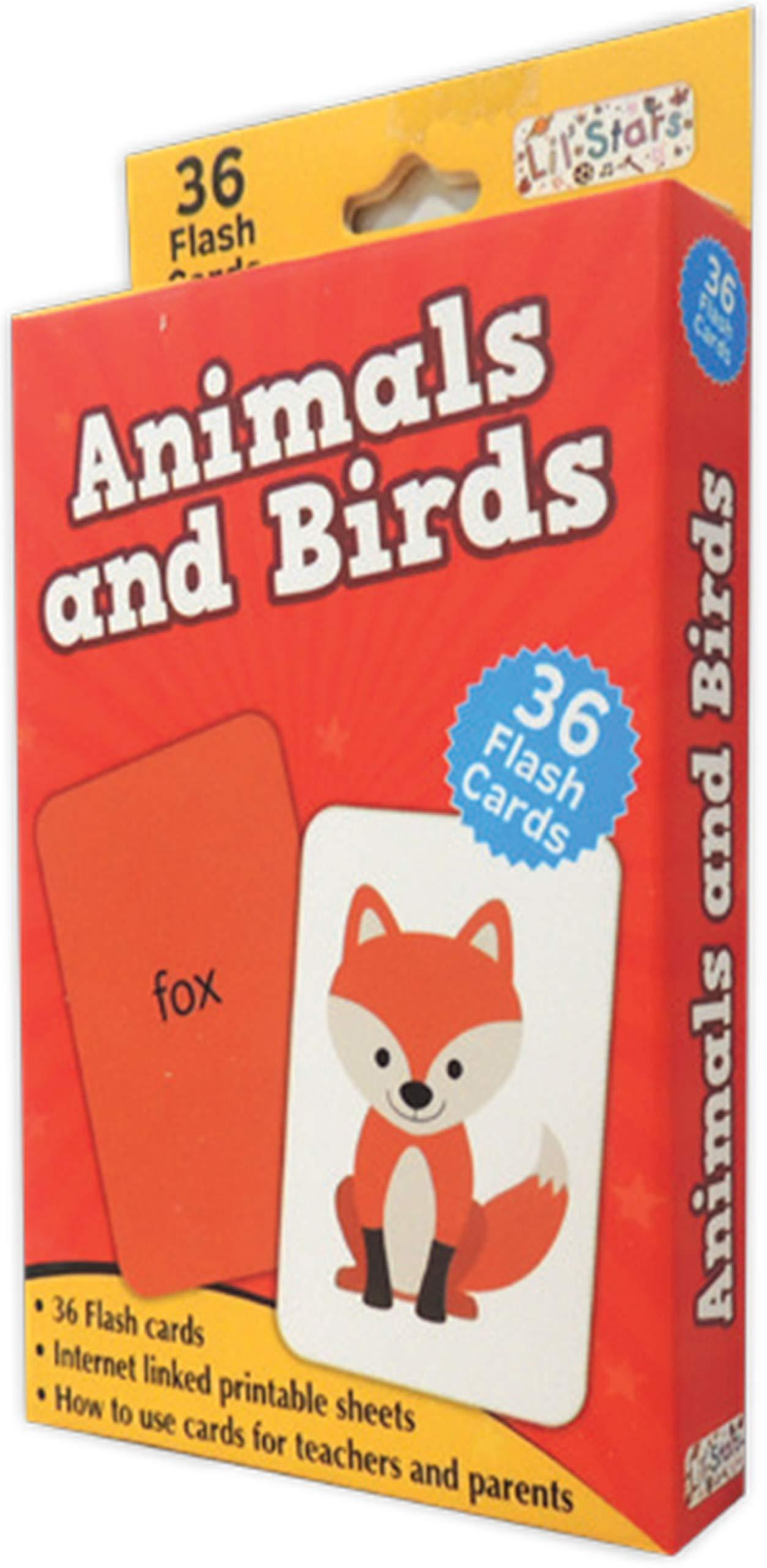 Animals & Birds (Flash Cards)