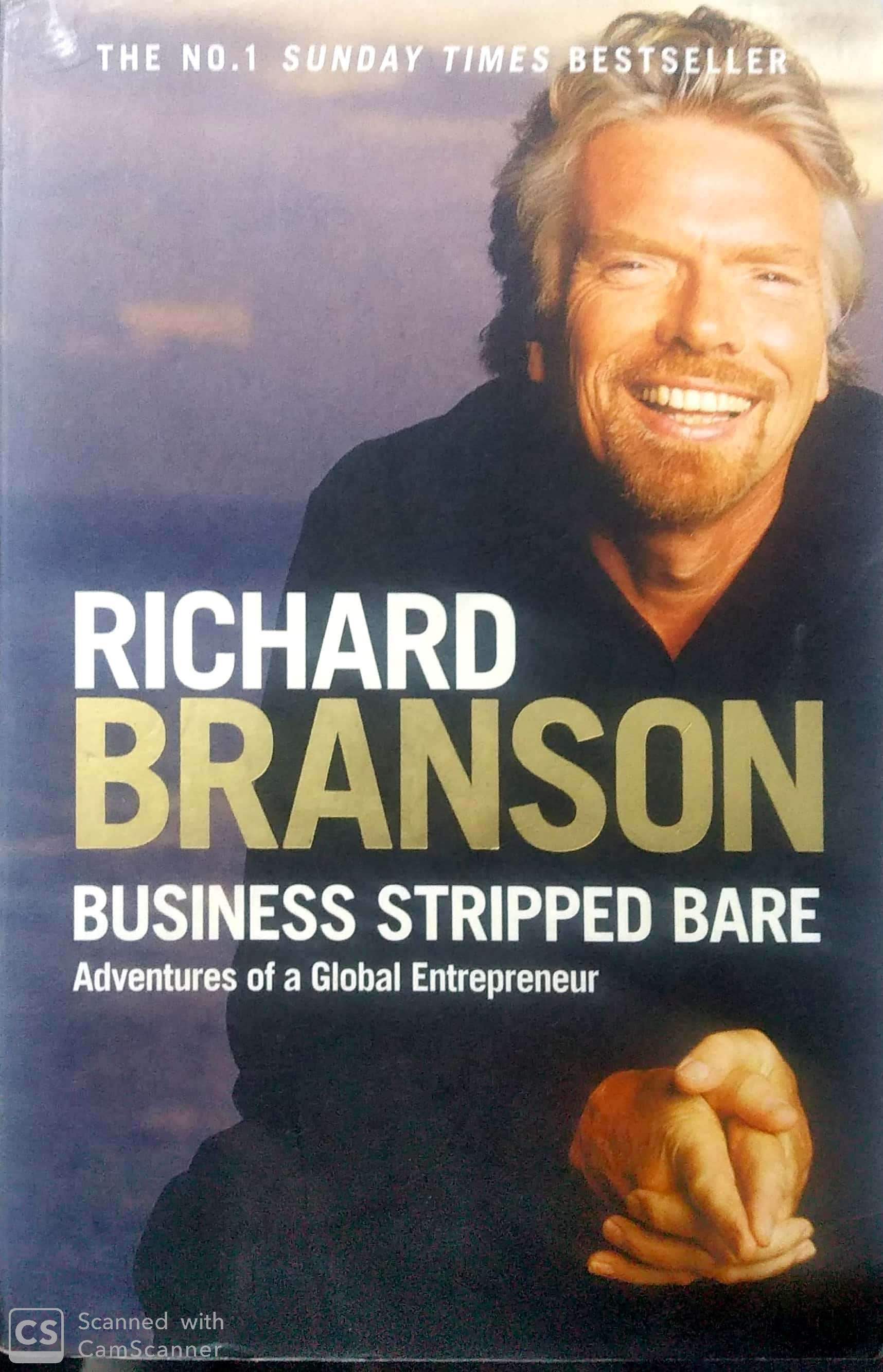 Business Stripped Bare UK edition: Adventures of a Global Entrepreneur