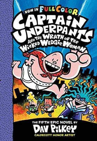 Buy Captain Underpants #5: Captain Underpants and the Wrath of the Book IBD 9789352751143