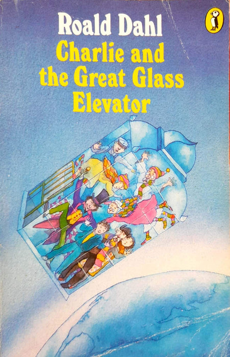 Buy Charlie and the Great Glass Elevator (Charlie Bucket #2) book Books Bookish Santa