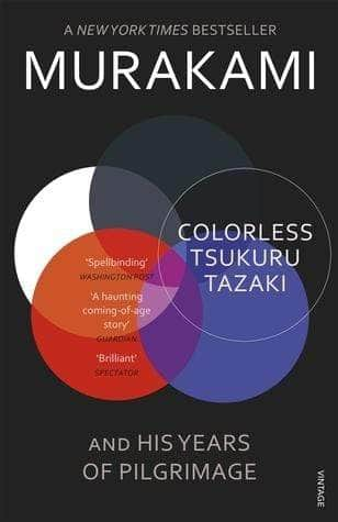 Buy Colorless Tsukuru Tazaki and His Years of Pilgrimage Book Online Book Bookish Santa 9780099590378