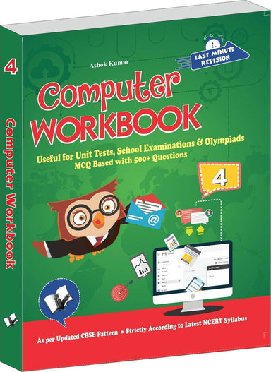 Buy Computer Workbook Class 4 Book V & S Publications 9789357942775