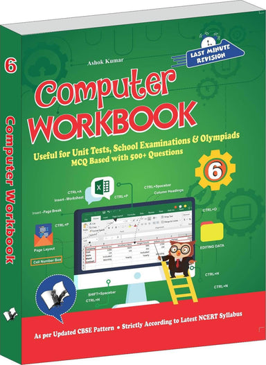 Buy Computer Workbook Class 6 Book V & S Publications 9789357942799