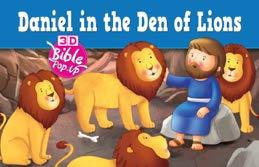Daniel in the Den of Lions - 3D Bible Pop-Up