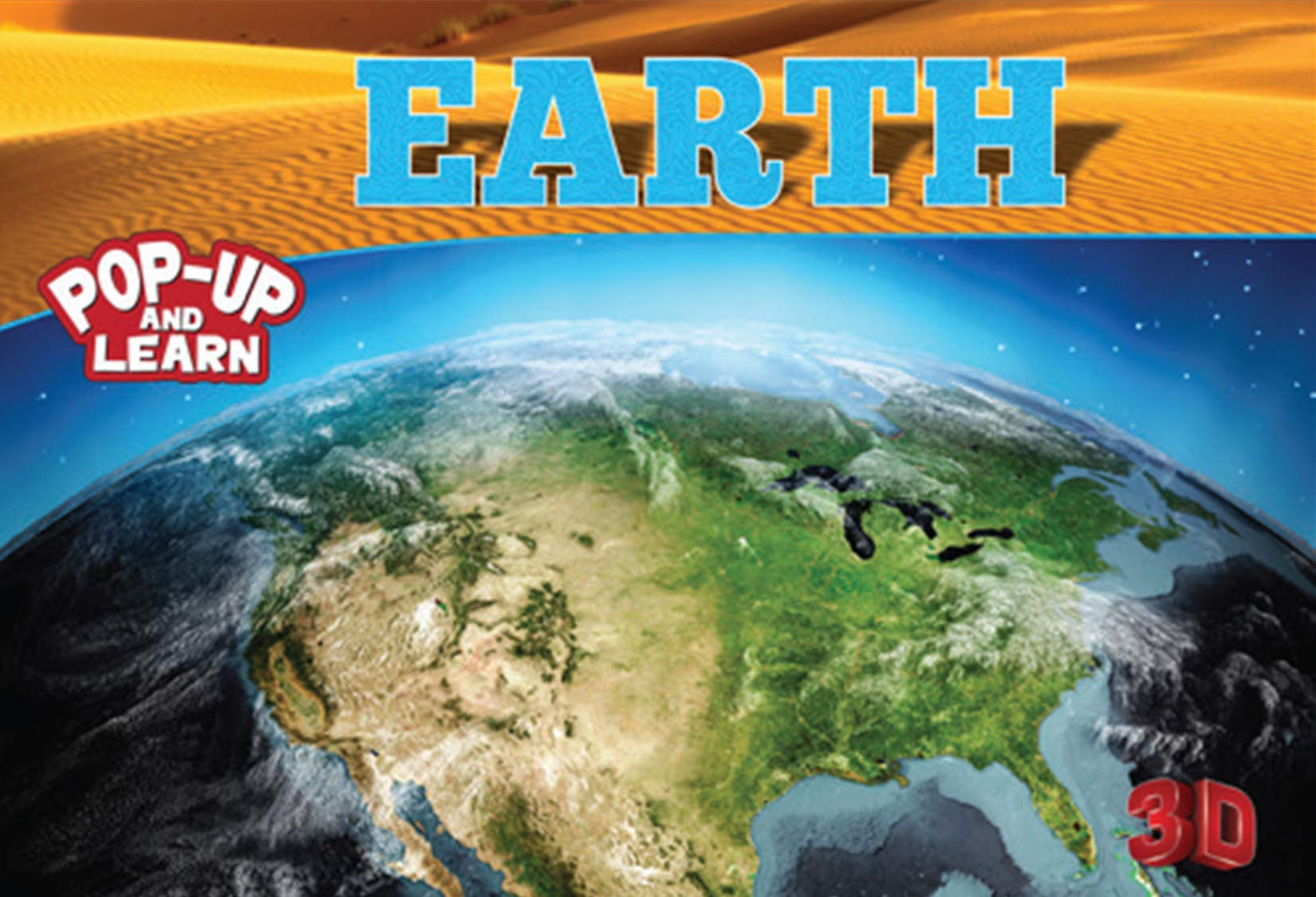 Earth - 3D Pop-up Book
