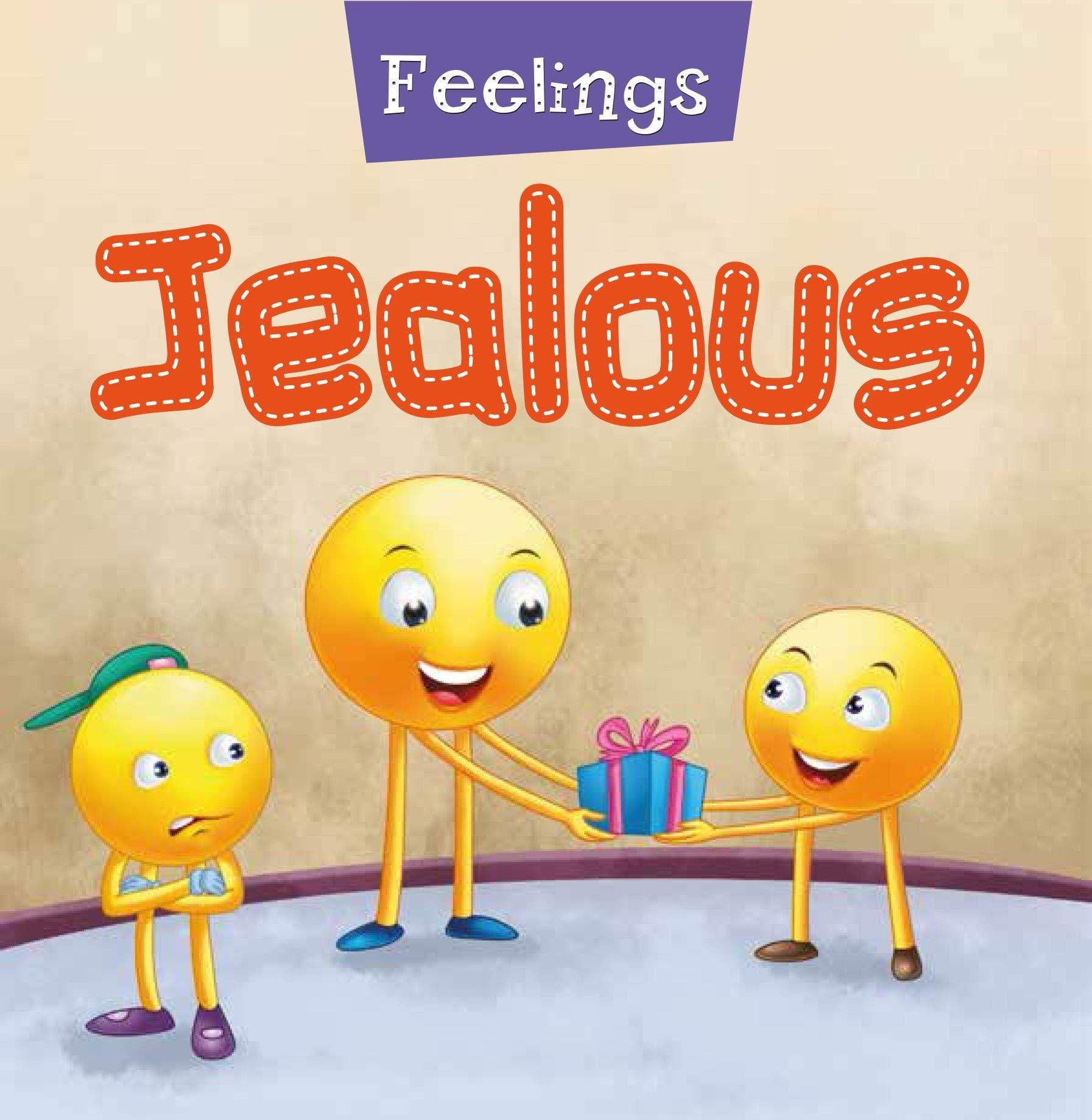 Feelings - Jealous Foam Book