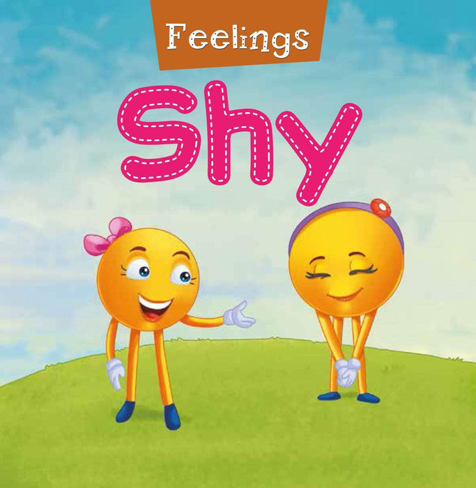 Feelings - Shy Foam Book