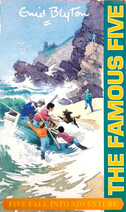 Five Fall Into Adventure (The Famous Five #9)