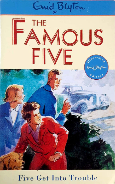 Five Get into Trouble (The Famous Five #8)