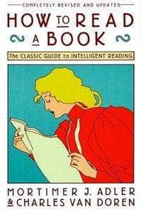 Buy How to Read a Book: The Classic Guide to Intelligent Reading Book Book Bookish Santa 9780671212094