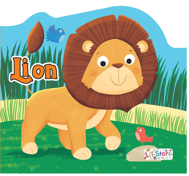 Lion Shaped Board Book