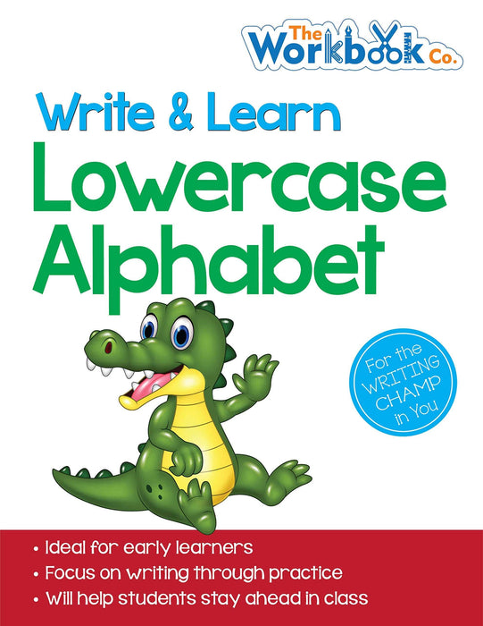 Lowercase Alphabets - Write & Learn (Write and Learn)
