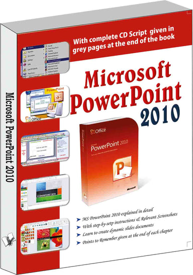 Buy Microsoft Powerpoint 2010 Book Online at Low Prices in India | Book V & S Publications 9789350578841