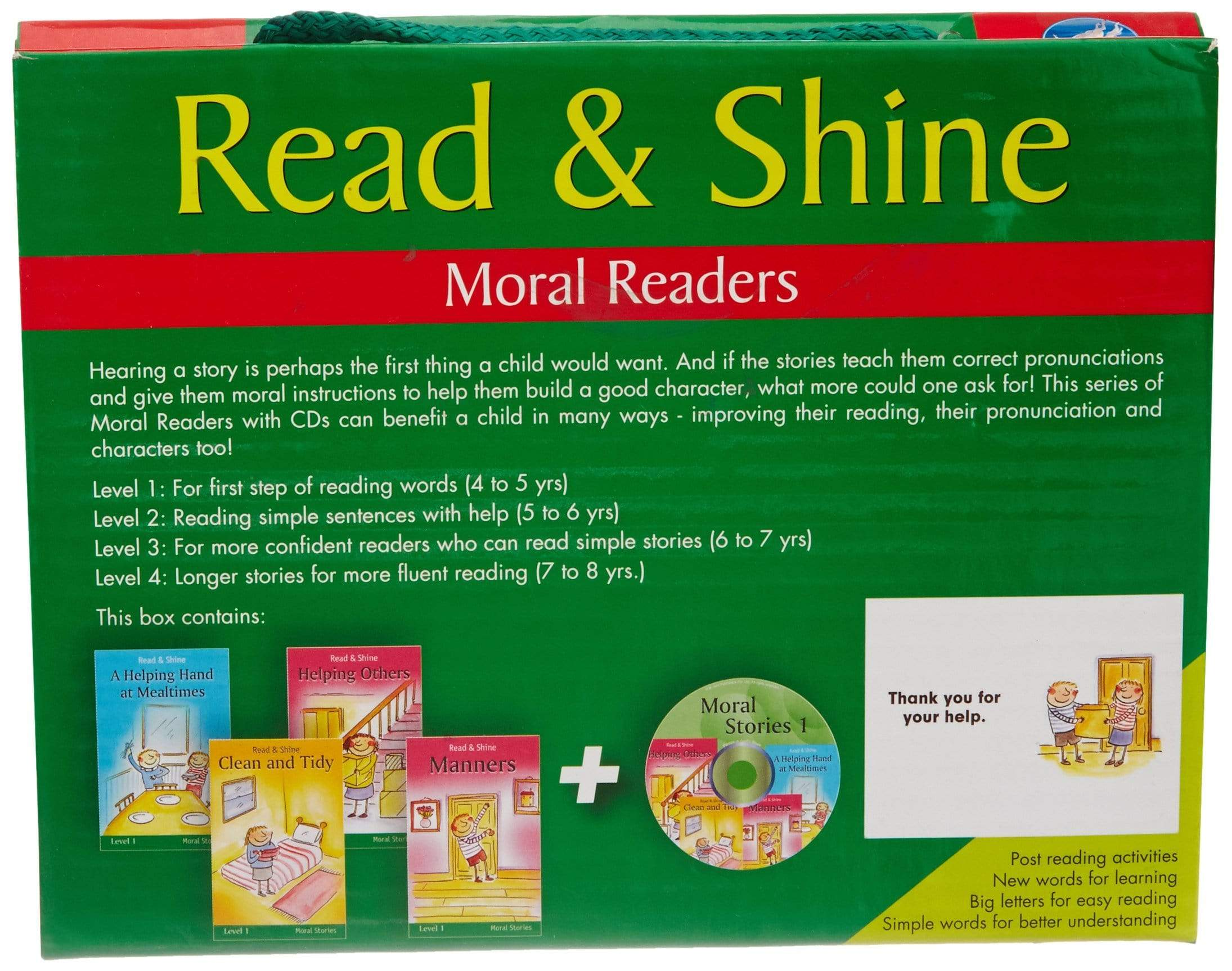 Moral Stories Level k: 5 (Reader Packs)