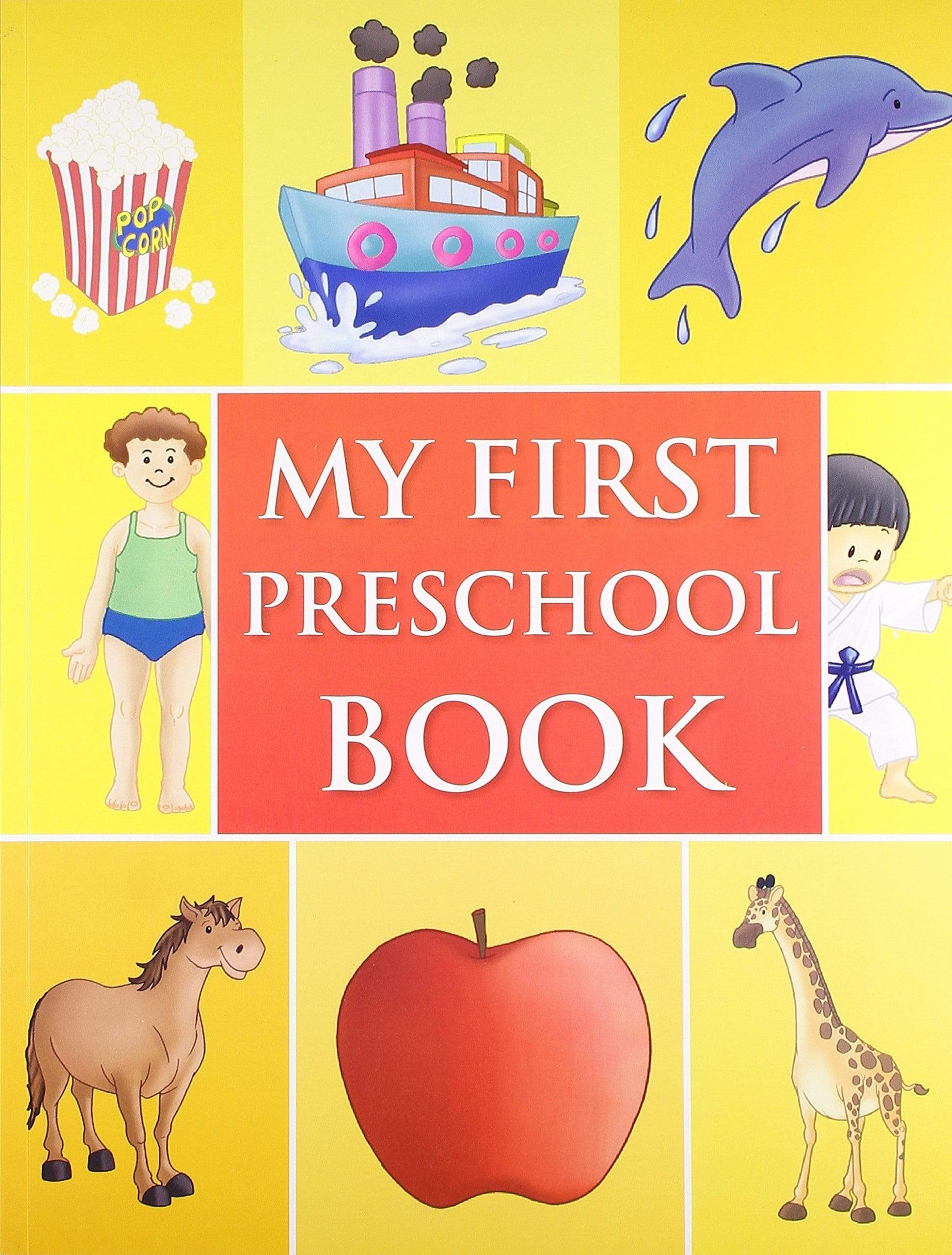 My First Preschool Book - Picture Dictionary