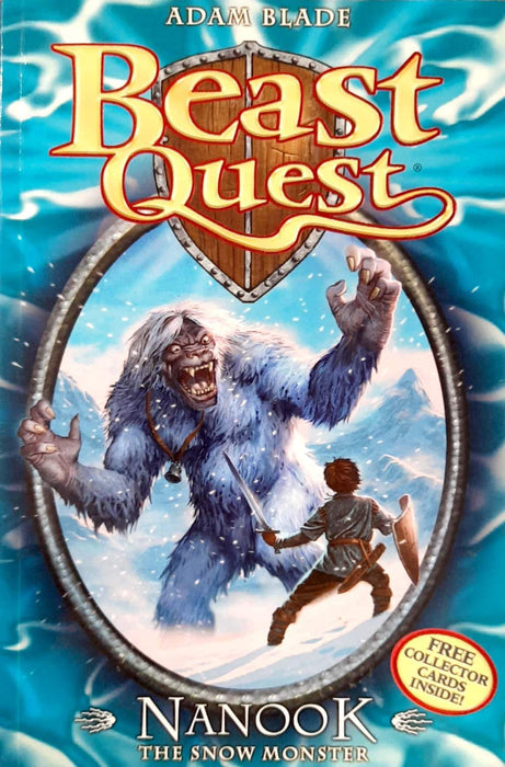 Nanook The Snow Monster (Beast Quest #5)