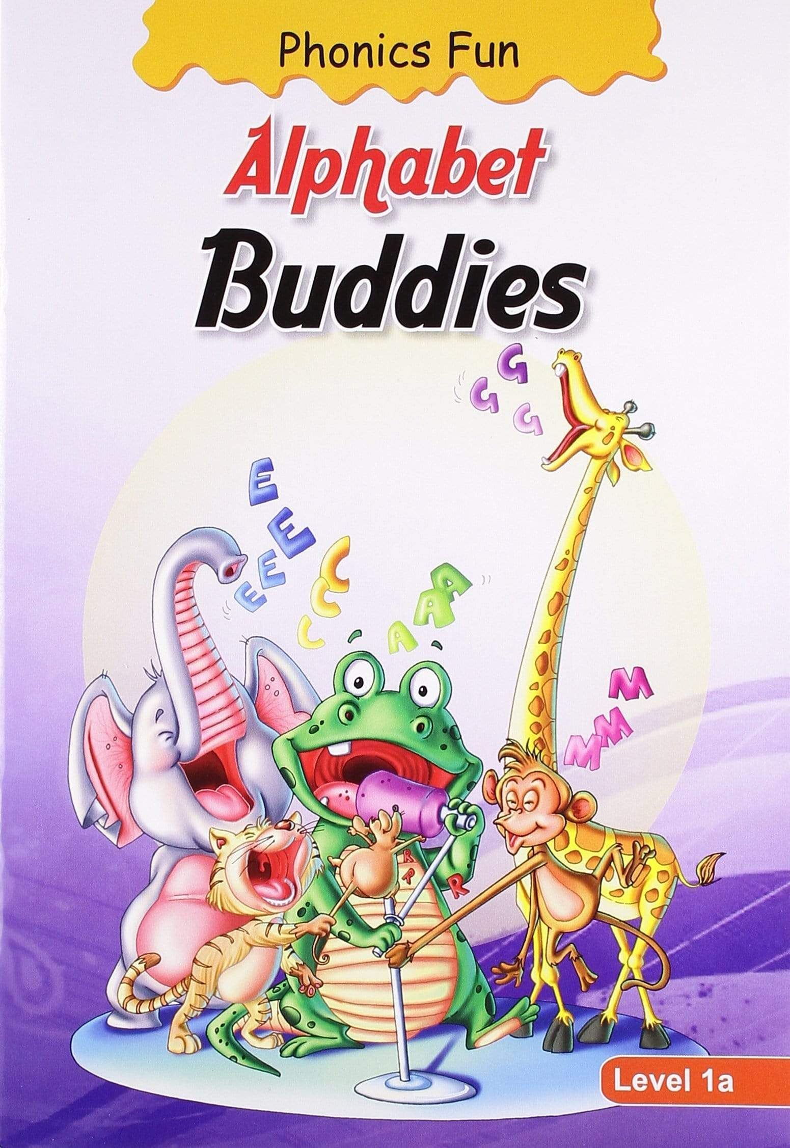 Phonics Fun: Alphabet Buddies - Level 1a