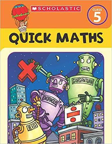 Buy Quick Maths Workbook Grade 5 Book Online at Low Prices in India | Book IBD 9789390066995