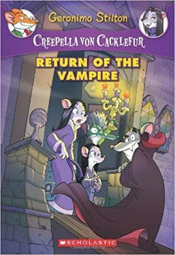 Buy Return of the Vampire (Creepella von Cacklefur #4) Book Online at Book Bookish Santa 9780545393485
