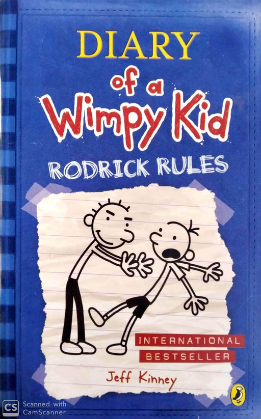 Buy Rodrick Rules (Diary of a Wimpy Kid #2) Book Online at Low Prices Book Bookish Santa
