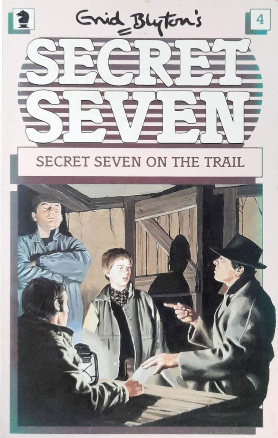 Secret Seven On The Trail (The Secret Seven #4)