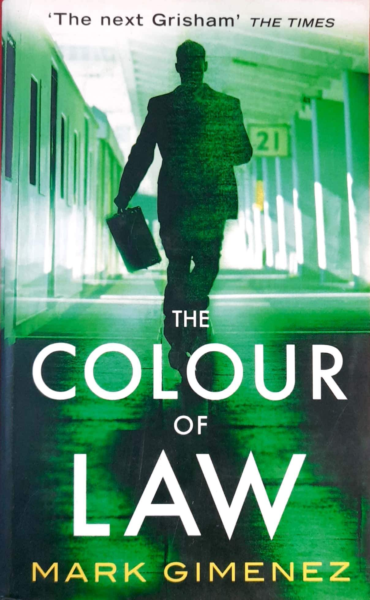 The Colour of Law (Scott Fenney #1)