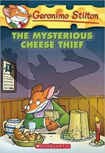 Buy The Mysterious Cheese Thief (Geronimo Stilton #31) Book Online at Book Prakash Books 9780439023122