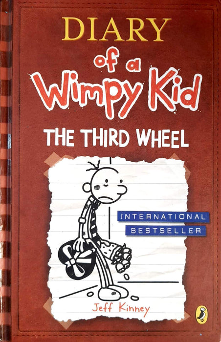 The Third Wheel (Diary of a Wimpy Kid #7) (Hardcover Edition)